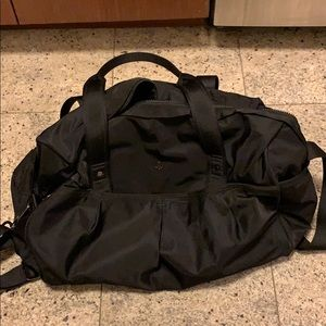 Lululemon gym bag and travel bag - black
